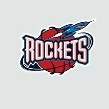 Houston Rockets Basketball Full Color Logo Sports Decal Sticker-Free Shipping