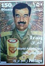 bloc Iraq World AIDS day Saddam Hussein 2003