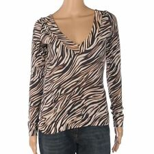 Viscose V Neck Regular Size Tops & Shirts for Women