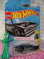 KING KUDA #261✰black/blue;King♛CHECKMATE♛2018 Int'l Hot Wheels WW case M