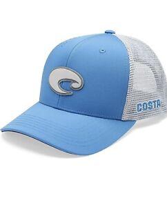 BRAND NEW COSTA DEL MAR CORE PERFORMANCE TRUCKER HAT - BLUE
