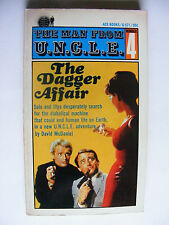 The Man From UNCLE #4 The Dagger Affair - Ace Paperback 1st Print - VG+