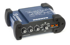 Samson S-xover - Mini Stereo 2-Way Electronic Crossover -BRAND NEW-