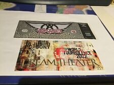Rare Concert Tickets AEROSMITH (June 12, 1994 Portugal Cascais) - DREAM THEATER