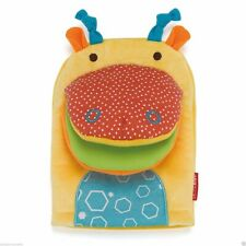 CLEARANCE Skip Hop Safari Giraffe Hand Puppet Toy with Baby Safety Mirror