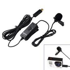BOYA BY-GM10 Akku-Kondensator Lavalier Clip-on Mikrofon für GoPro 4/3