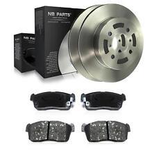 2x Disco de Freno Ventilado 257mm + Forros Delantero Suzuki Ignis i II Fh MH
