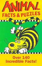 Animal Facts and Puzzles (Puzzle Books), Williams, John, Used; Acceptable Book
