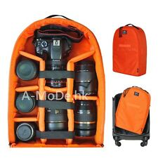 Multifunctional  Backpack Padded Camera Case insert For DSLR Canon Nikon A-mode