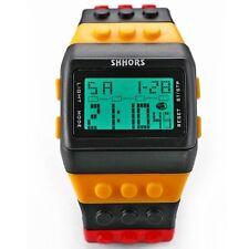 OROLOGIO Digitale Da Polso Unisex e Bambino Water Resistant Bracciale Logo Watch