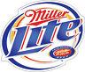 MILLER Light Sticker Decal *DIFFERENT SIZES* Beer Bumper Window Bar Wall
