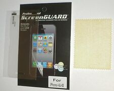 iPhone 4 4S pellicola proteggi salva schermo display screen protector