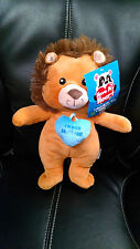 """Lion Plush Toy Have My Heart """"I'm Wild About You!"""" Sugar Loaf Kellytoy NWT 2016"""