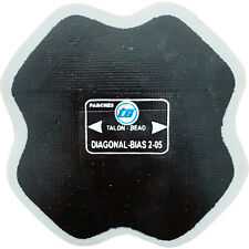 1 x Bias Ply Reinforced Tyre Repair Patch 127mm x 127mm, 2 Ply - TG2-05 Made In