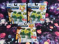 Toy Story 4 Green Army Men with Parachutes Lot of 3 Disney Pixar Figures Toys