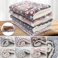 Pet Dog Puppy Cat Soft Bed Mat Pillow Blanket Cushion Mattress Warm Washable