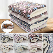 Pet Dog Puppy Cat Soft Bed Mat Pillow Blanket Cushion Mattress Warm Washable