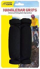 Universal Bicicleta Bici Puños de manillar 22mm Diámetro Negro Suave Espuma
