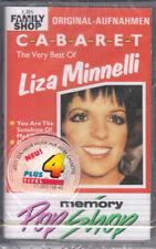 LIZA MINELLI - CABARET-The Very Best Of... > MC Musikkassette , Neu OVP