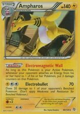 NEAR MINT! AMPHAROS 40/124 Holo Rare Pokemon Card