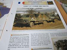 Archiv Militärfahrzeuge leichte Rad Kfz 26.1 SUMB MH 600 BS FRankreich