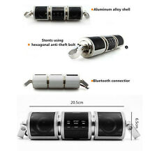 12V Motorcycle Wireless Bluetooth Radio Sound System Stereo Speaker TF/AUX