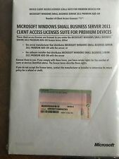 MS Windows SBS 2011 Premium Add-on CAL Suite - 1 Device CAL mit MwSt Rechnung