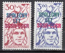CSSR / Ceskoslowensko Nr. 2425-2426** Weltraumflug UdSSR-CSSR / Gagarin