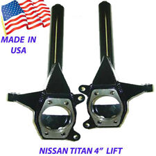 "4"" Front Lift Spindles Fits 2004-2015 Nissan Titan 2wd Suspension"