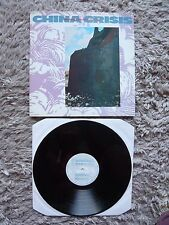 """China Crisis Working With Fire And Steel UK 1983 Virgin 12"""" Vinyl Single A1/B1"""