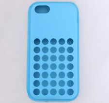 OEM Genuine Authentic Apple iPhone 5C BLUE Case Cover MF035ZM/A SEALED NEW
