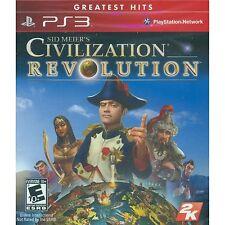 *NEW* Sid Meier's Civilization Revolution (GH) - PS3