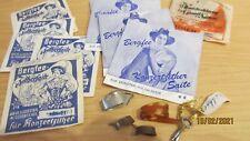 Zither - Ersatzteile /8Tütchen Zithersaiten, Finger u. Schlüssel