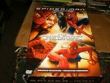 Spiderman Trilogy,Spiderman, Spiderman 2 & Spiderman 3 DVDs,2007,Used.