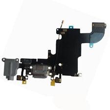 """Conjunto de muelle de Puerto de Bloque De Carga Sync Cable Flexible Micrófono para iPhone 6S 4.7"""" Gris"""