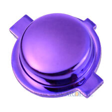 Customized Logo Home Buttons Mod Kits for PS4 Controller Chrome Purple