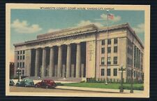 Wyandotte County Court House Kansas City, Ks. Postcard Old Vintage
