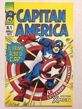 Capitan America n.1 Ed.Corno Ristampa Marvel Italia 1996 Edicola