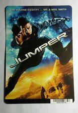 JUMPER HAYDEN CHRISTENSEN JACKSON PHOTO MINI POSTER BACKER CARD (NOT a movie)