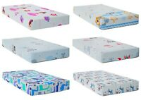 BABY FITTED COT BED SHEET PRINTED 100% COTTON MATTRESS 140x70cm