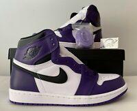 "2020 Nike Air Jordan 1 Retro High ""Court Purple 2.0"" 555088-500 SIZE 3-13"