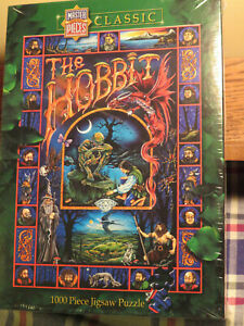 The Hobbit Jigsaw Puzzle 1000 pc Master Pieces Classic SEALED