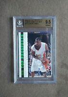 2003 UD Top Prospects Lebron James Promo Card #P3 BGS Graded 9.5 Gem Mint