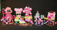 HUGE 135p LOT My Little Pony Ponyville Playset G3 Ponies Gumball Minty Christmas