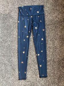 Teeki Great Star Nation Navy Hot Pant Leggings S