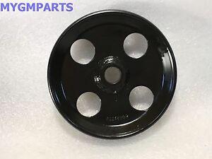 PONTIAC G8 3.6 POWER STEERING PUMP PULLEY NEW GM #  92218309