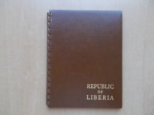 Republic of Liberia - 1964 UPU postal congress, Austria delegates folder.