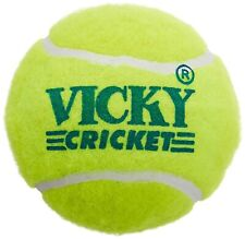 Premium Quality Vicky Tennis Cricket Ball, Pack of 6 (Yellow) Us