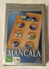 NEW Mancala Solid Wood Folding Game By Cardinal