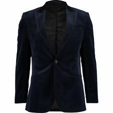HARDY AMIES Velvet Tuxedo Dinner Evening Smoking Sports Coat Jacket UK38 EU48